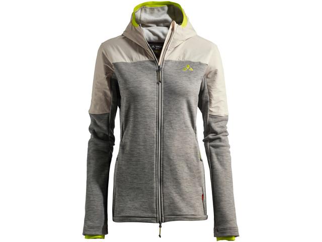 VAUDE Green Core Fleece Jacket Women, gris/beige